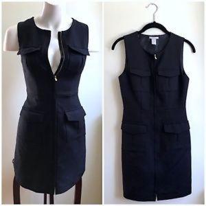 H&M | Military Pocket Sheath Dress